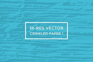 Hi-Res Vector Crinkled Paper 1