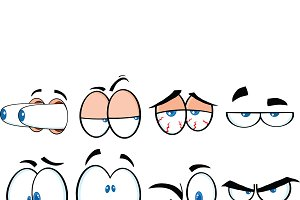 Cartoon Eyes Collection - 1