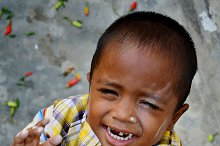 expression little boy