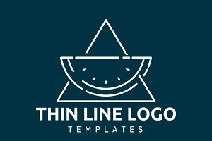 9 Fruit Logo Templates