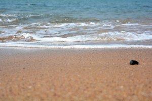 Wave at beach!