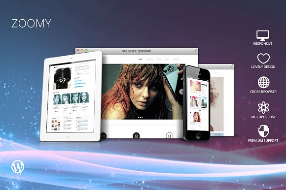 Zoomy - Photography WordPress Theme