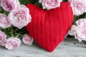 Corazón de tela