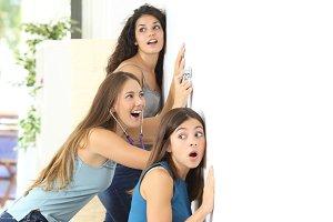 Gossip girls listening to the neighbour.jpg