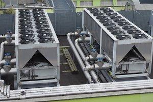 HVAC heating ventilation device