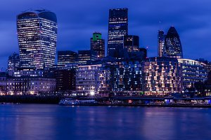 City Lights in London