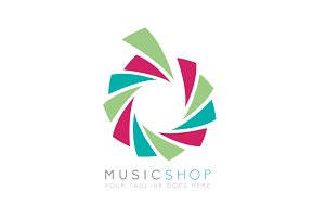 Music Shop (Logo Template)