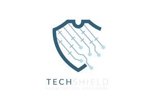 Tech Shield (Logo Template)
