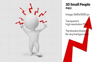 3D Small People - Angry