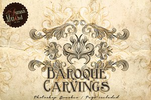 Baroque Photoshop Brushes-SALE!