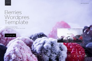 Berries - Multipage Wordpress Theme