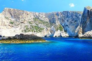Beautiful rocks,Zakynthos
