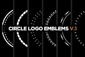 6 Circle Logo Emblems