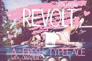 Revolt Typeface