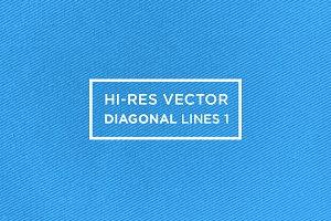 Hi-Res Vector Diagonal Lines 1
