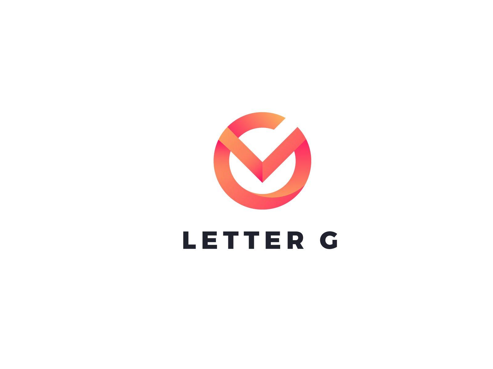letter g logo design creative illustrator templates creative market letter g logo design