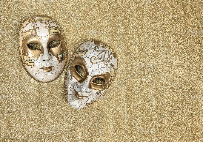 Carnival mask harlequin. Mardi gras - Holidays