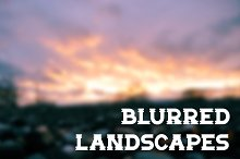8 Blurred Landscape Images