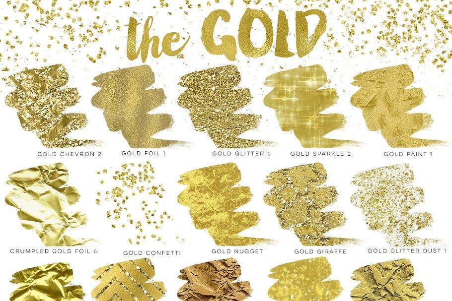 83259235eb1e Gold Rush For Illustrator ~ Illustrator Add-Ons ~ Creative Market