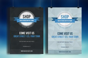 Shop Flyer PSD Template