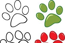 Dog Paw Collection