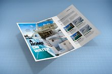 Tri-Fold Brochure Mock-Up 1