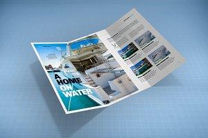 Tri-Fold Brochure Mock-Up 1