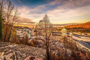 Salzburg / City view