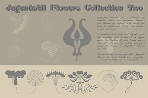 Jugendstil Flowers Collection Two