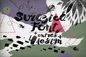 Surazica Font+4 Design