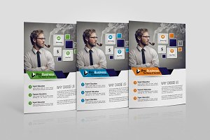 Advertisment Company Flyer Template