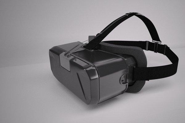3D Electronics: Graphics834 - VR Headset