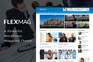 Flexmag - WordPress magazine Theme