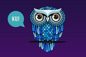 Owl family, logotype