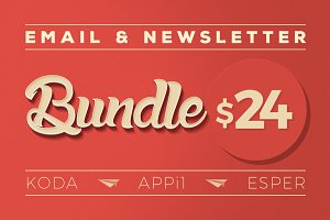Email & Newsletter Bundle #1