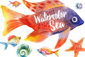 Watercolor Sea