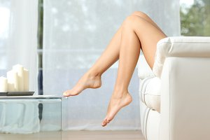 Perfect woman legs hair removal concept.jpg