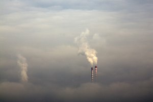 Polluted city (vertical)