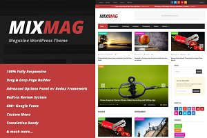 MixMag - Magazine WordPress Theme