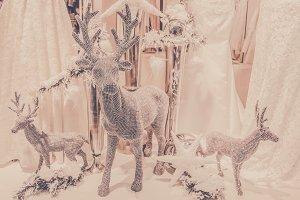 Glittering Christmas Reindeer