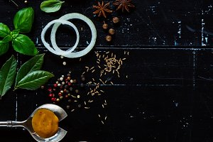 Spices, herbs and sauces