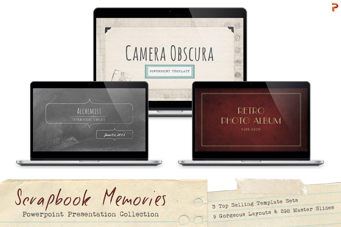 Scrapbook memories powerpoint bundle presentation templates scrapbook memories powerpoint bundle presentation templates creative market toneelgroepblik Gallery