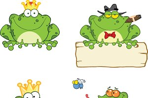 Happy Frogs Collection - 1