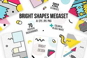 272 Bright Patterns, Elements Set