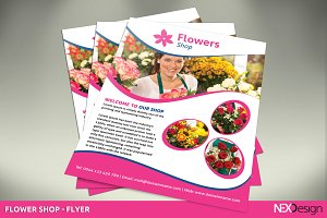 Flowers Shop Flyer - SK