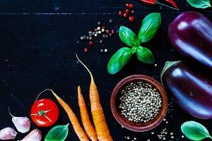 Cuisine ingredients