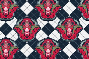4 Abstract Seamless Patterns