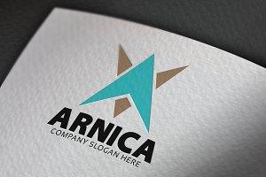 Arnica A Letter Logo