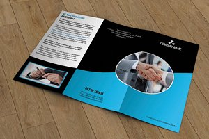 Trifold Corporate Brochure-T343