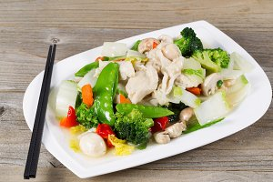 White Chicken and Veggies